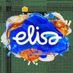Elisa läpinäkyvä logo
